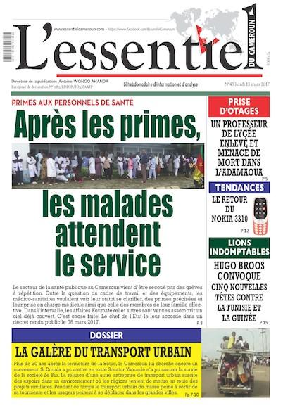 L'essentiel du Cameroun - Numéro 043