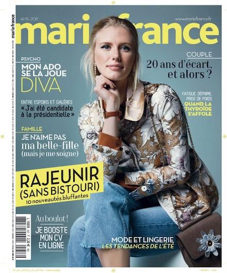 Marie France - Avril 2017