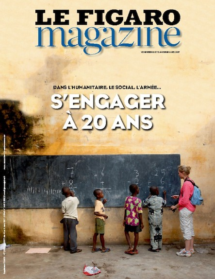 Le Figaro Magazine - Mars 2017 : S'engager à 20 ans
