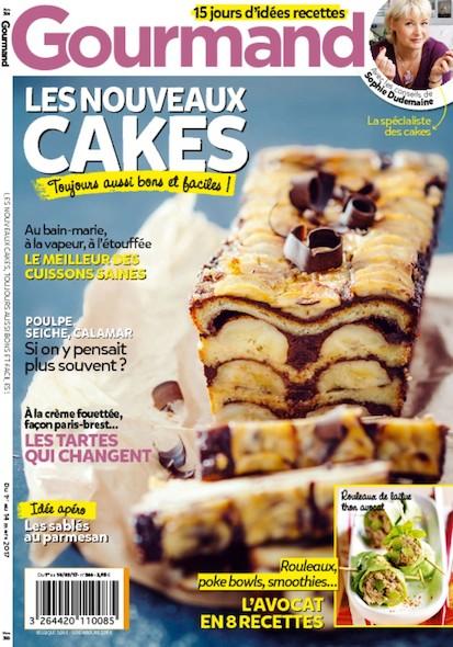 Gourmand - Du 1 Mars au 14 Mars 2017