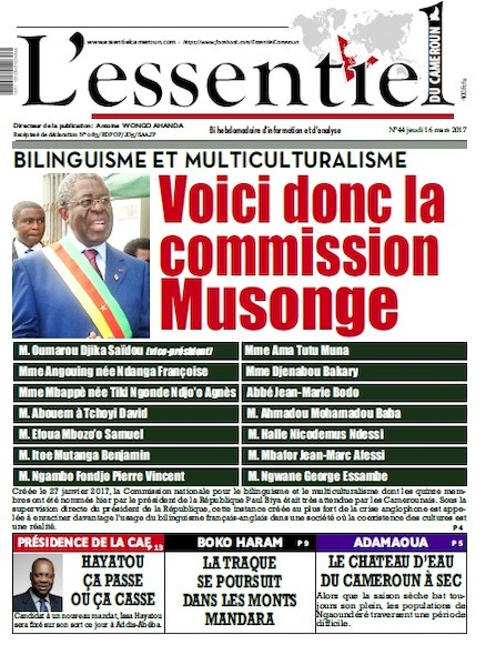 L'essentiel du Cameroun- numéro 044