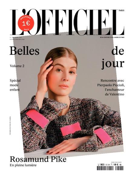 L'Officiel Mode et Couture - N°1013 - Mars 2017