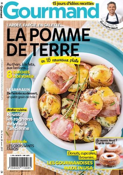 Gourmand - Du 15 au 28 Mars 2017