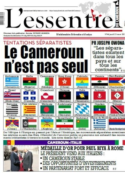 L'essentiel du Cameroun - Numéro 046
