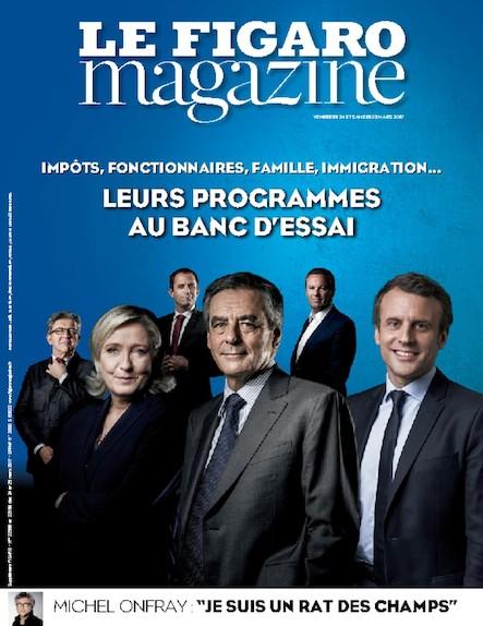 Le Figaro Magazine - Mars 2017 : Leurs programmes au banc d'essai