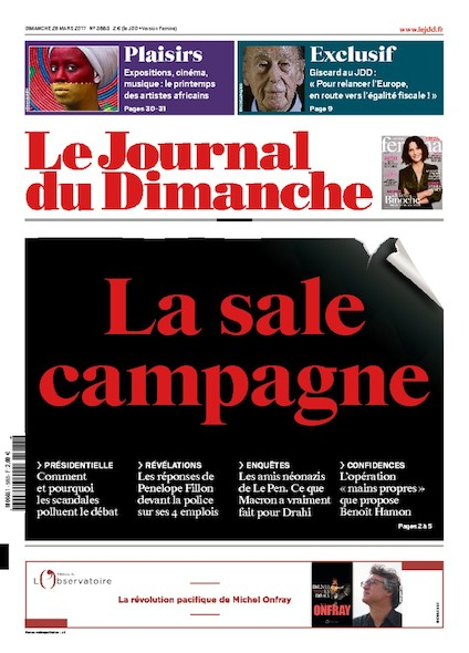 Journal Du Dimanche - 27 Mars 2017