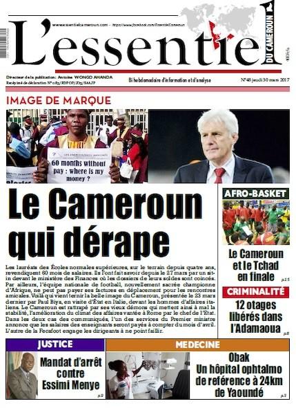 L'essentiel du Cameroun - Numéro 048