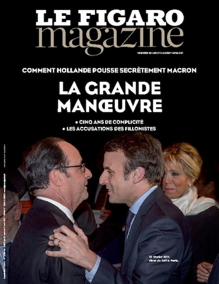 Le Figaro Magazine - Mars 2017 : La grande manoeuvre