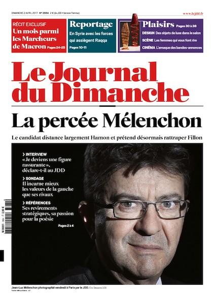 Journal du dimanche - 02 Avril 2017
