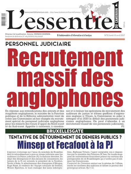 L'essentiel du Cameroun - Numéro 051