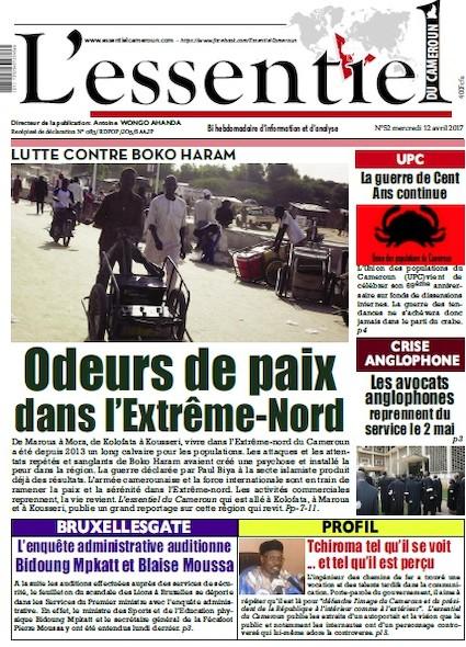 L'essentiel du Cameroun - Numéro 052