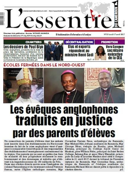 L'essentiel du Cameroun - Numéro 053