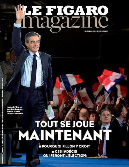 Le Figaro Magazine - Avril 2017 : Tout se joue maintenant