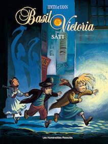 Basil et Victoria T1 : Sâti | Edith (dessinatrice)