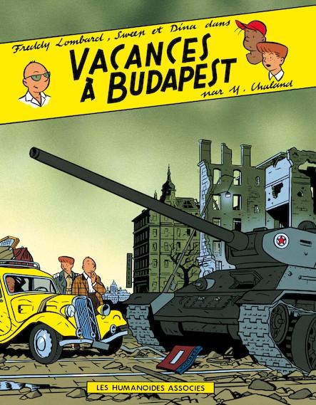 Freddy Lombard : Vacances à Budapest