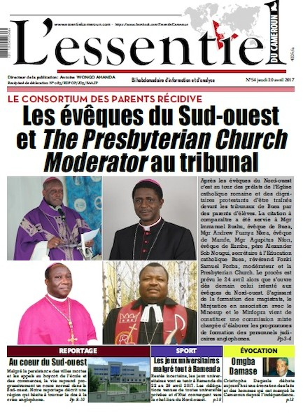 L'essentiel du Cameroun - Numéro 054