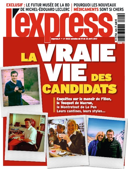 L'Express - Avril 2017 - La vraie vie des candidats