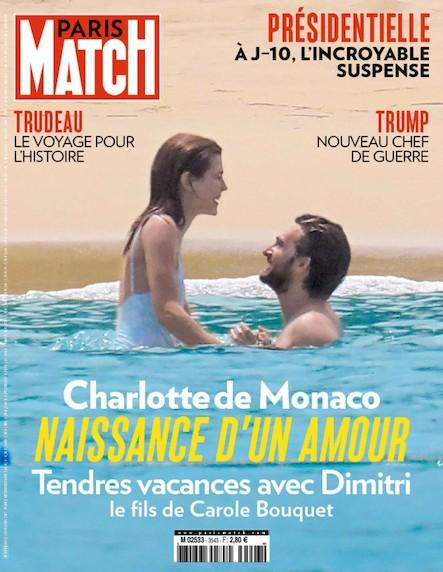 Paris Match N°3543
