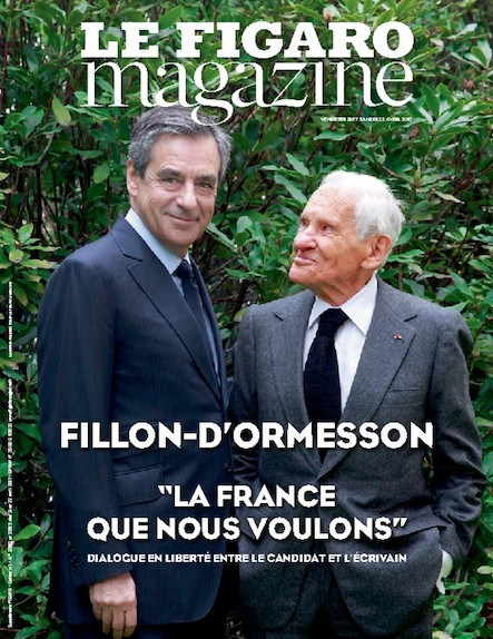 Le Figaro Magazine - Avril 2017: La France que nous voulons