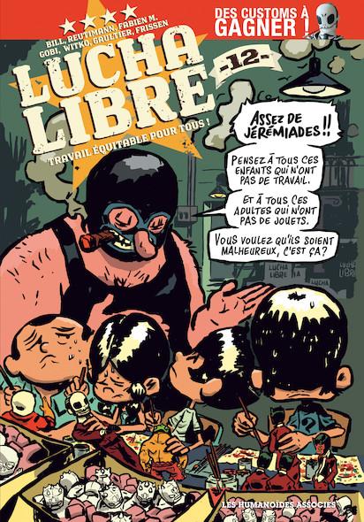 Lucha Libre T12 : Travail équitable pour tous!