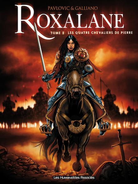 Roxalane T2 : Les Quatre chevaliers de pierre