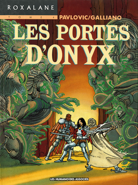 Roxalane T4 : Les Portes d'Onyx