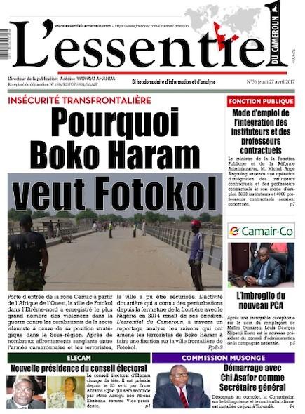 L'essentiel du Cameroun - Numéro 056