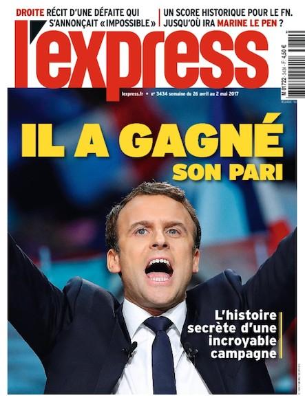 L'Express - Avril 2017 - Il a gagné son pari