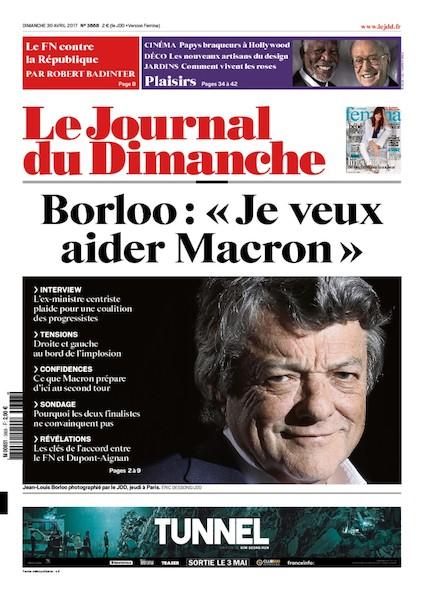 Journal Du Dimanche - 30 Avril 2017