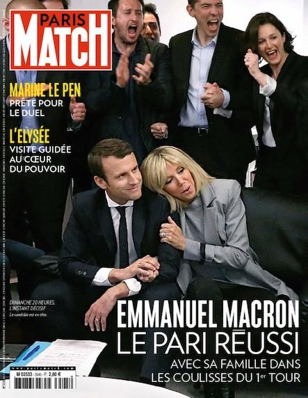 Paris Match N°3545