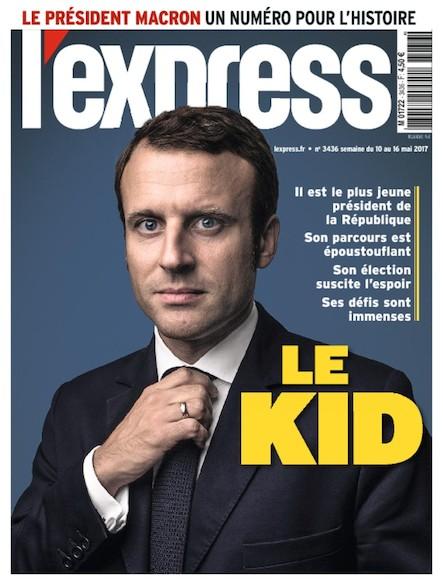 L'Express - Mai 2017 - Le Kid
