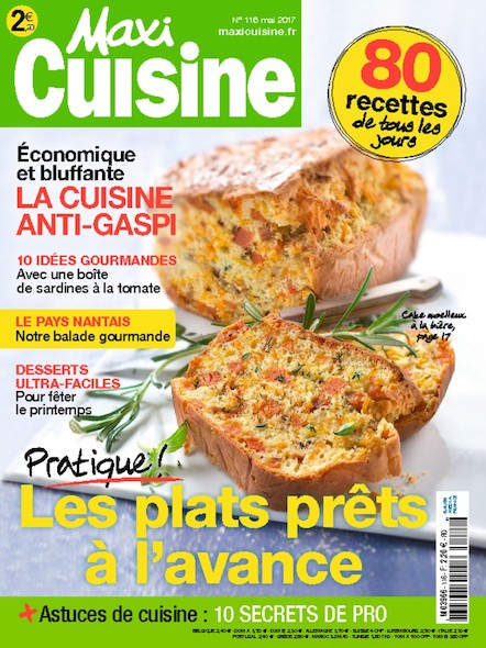 Maxi Cuisine   Avril 2017   N°116