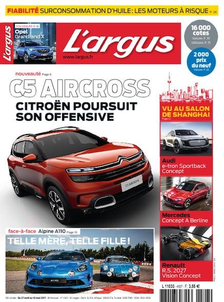 L'Argus - 27 Avril/10 Mai 2017