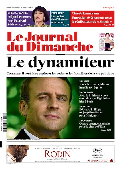 Journal du dimanche - 14 Mai 2017
