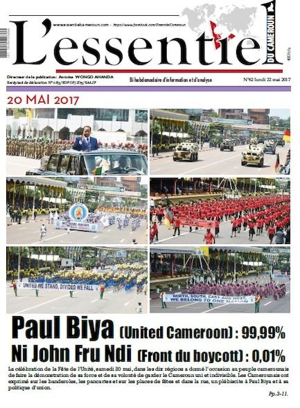 L'essentiel du Cameroun - Numéro 062