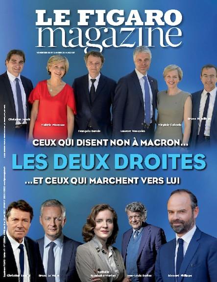 Le Figaro Magazine - Mai 2017 : Les deux droites