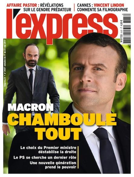 L'Express - Mai 2017 - Macron chamboule tout
