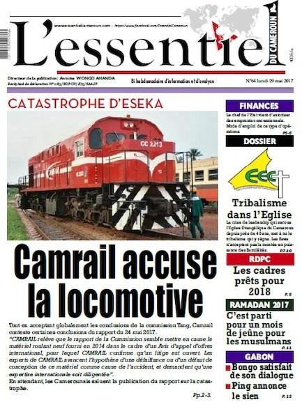 L'essentiel du Cameroun - Numéro 064