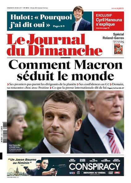 Journal Du Dimanche - 28 Mai 2017