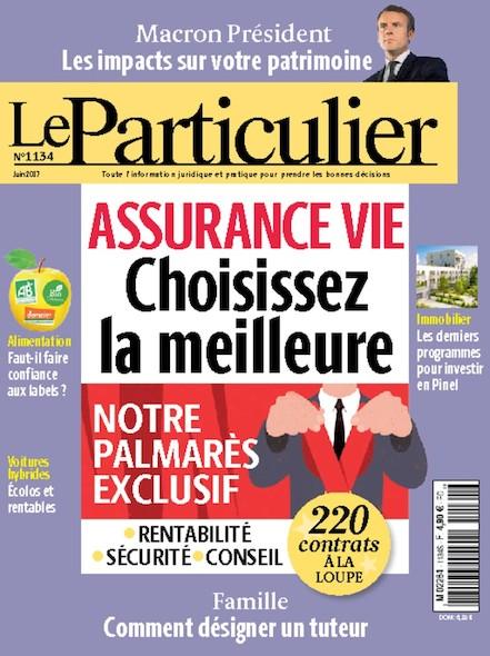 Le Particulier - N°1134 - Juin 2017