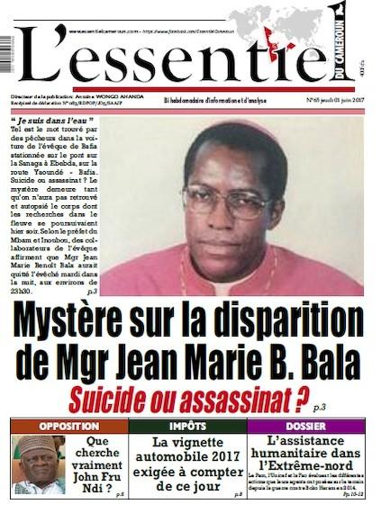 L'essentiel du Cameroun - Numéro 065