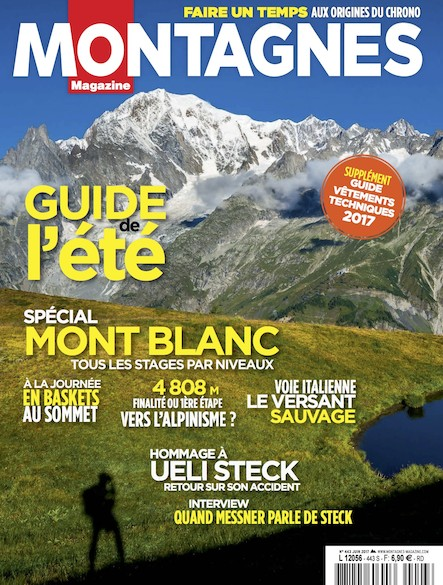 Montagnes magazine - Juin 2017