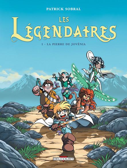 Les Légendaires 01. La Pierre de Jovénia
