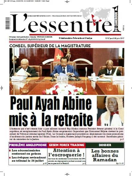 L'essentiel du Cameroun - Numéro 067