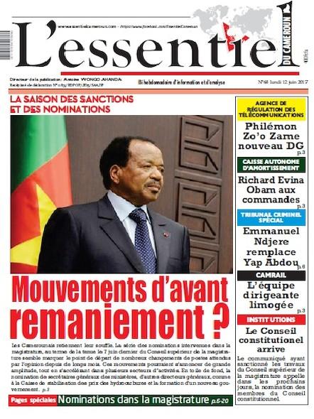 L'essentiel du Cameroun - Numéro 068