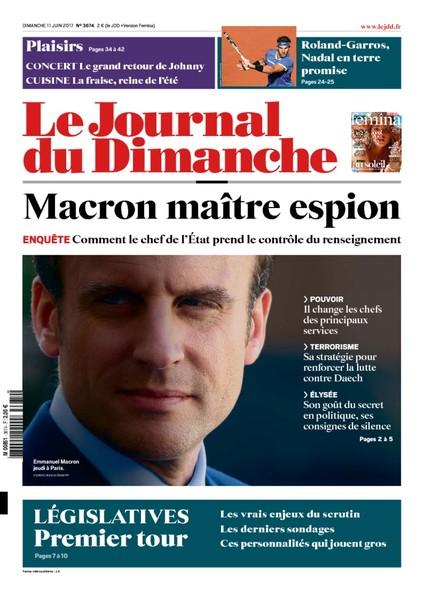 Journal Du Dimanche - 11 Juin 2017