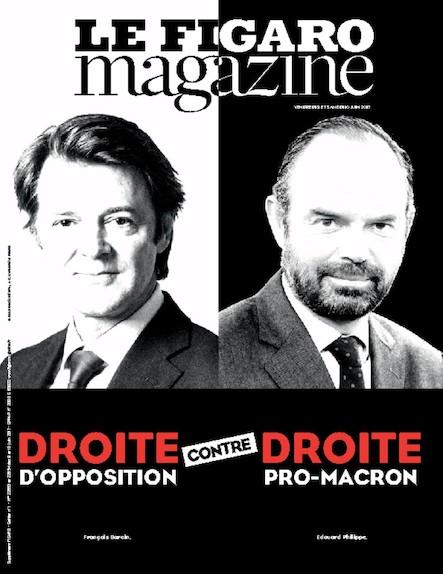 Le Figaro Magazine - Juin 2017 : Droite contre Droite