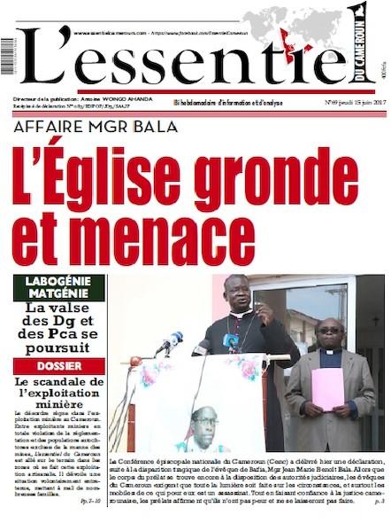 L'essentiel du Cameroun - Numéro 69