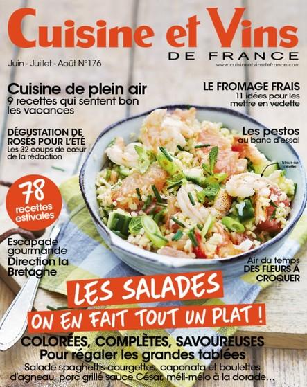 Cuisine et Vins - Juin/Juillet/Aout 2017