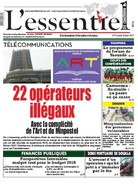 L'essentiel du Cameroun - Numéro 071